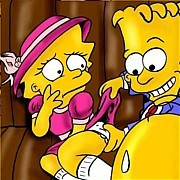 Bart and Lisa Simpsons hidden couples