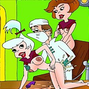 Jetsons family hardcore orgies