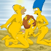 The Simpsons on raw threesomes